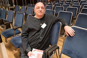 Colour photograph of Stefan Bevier, 1958-2018 (image courtesy of Philharmonia Chorus)