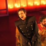 As Bradamante in Alcina, Opéra National de Lorraine 2020, (photo credit: Helmut Fischer)