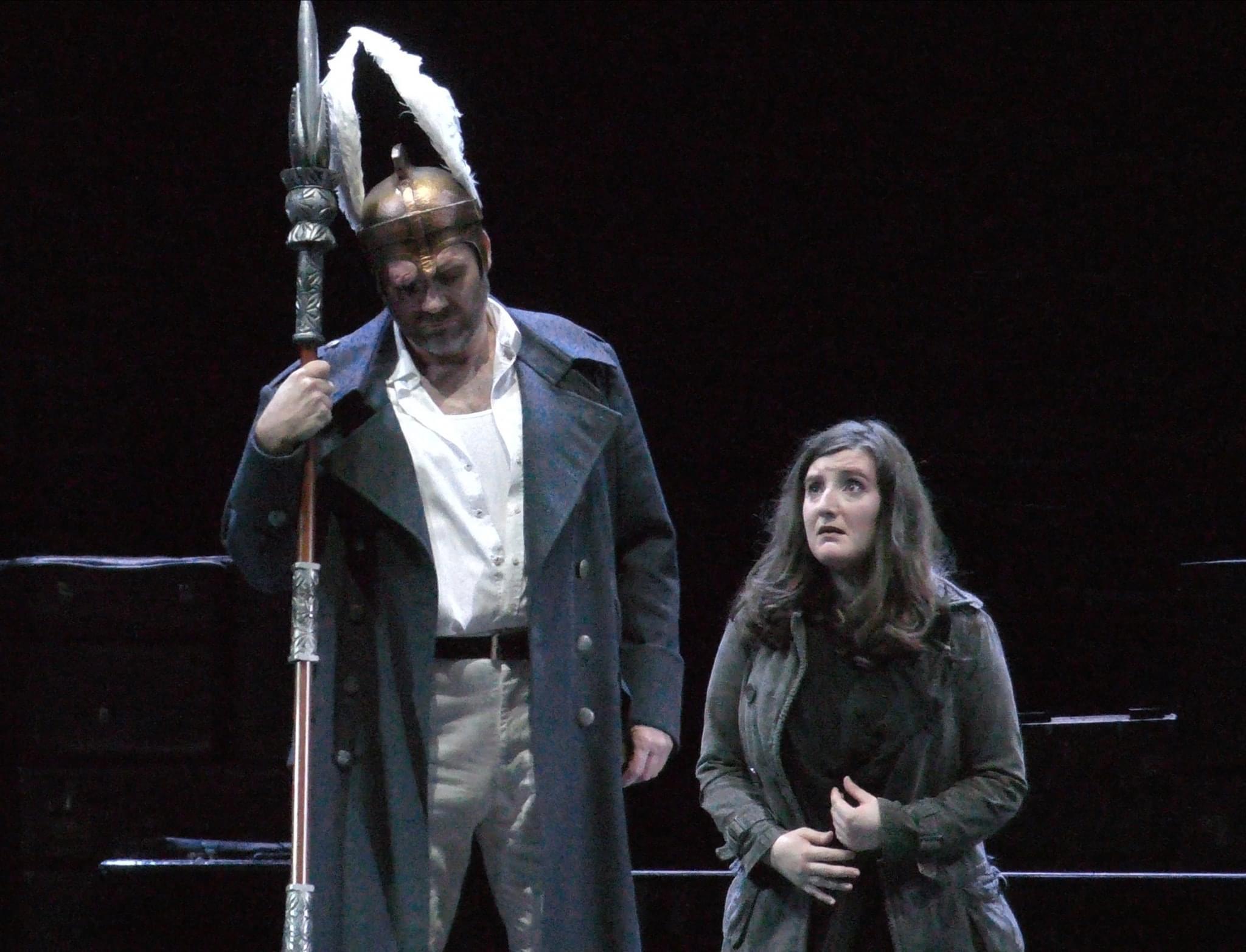 Scene from Die Walküre at Deutsche Oper Berlin, 2020 (photo credit Helmut Fischer)
