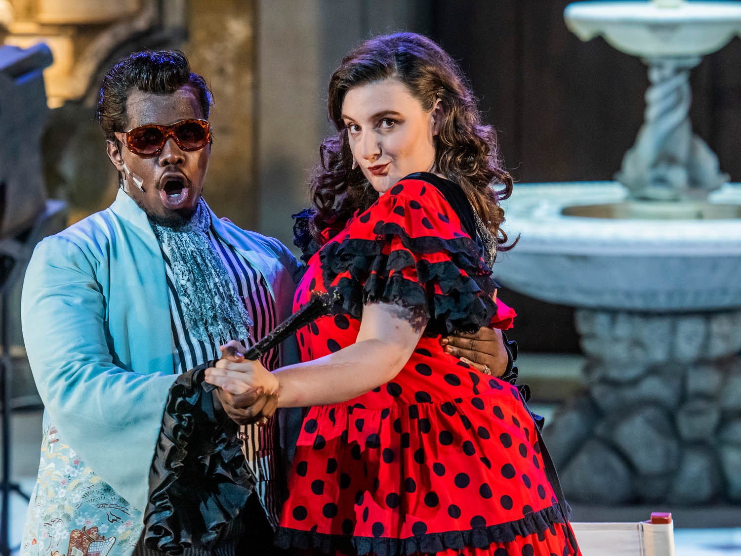 Scene from Le Nozze di Figaro at The New Generation Festival, Florence, 2019 (copyright Guy Bell)